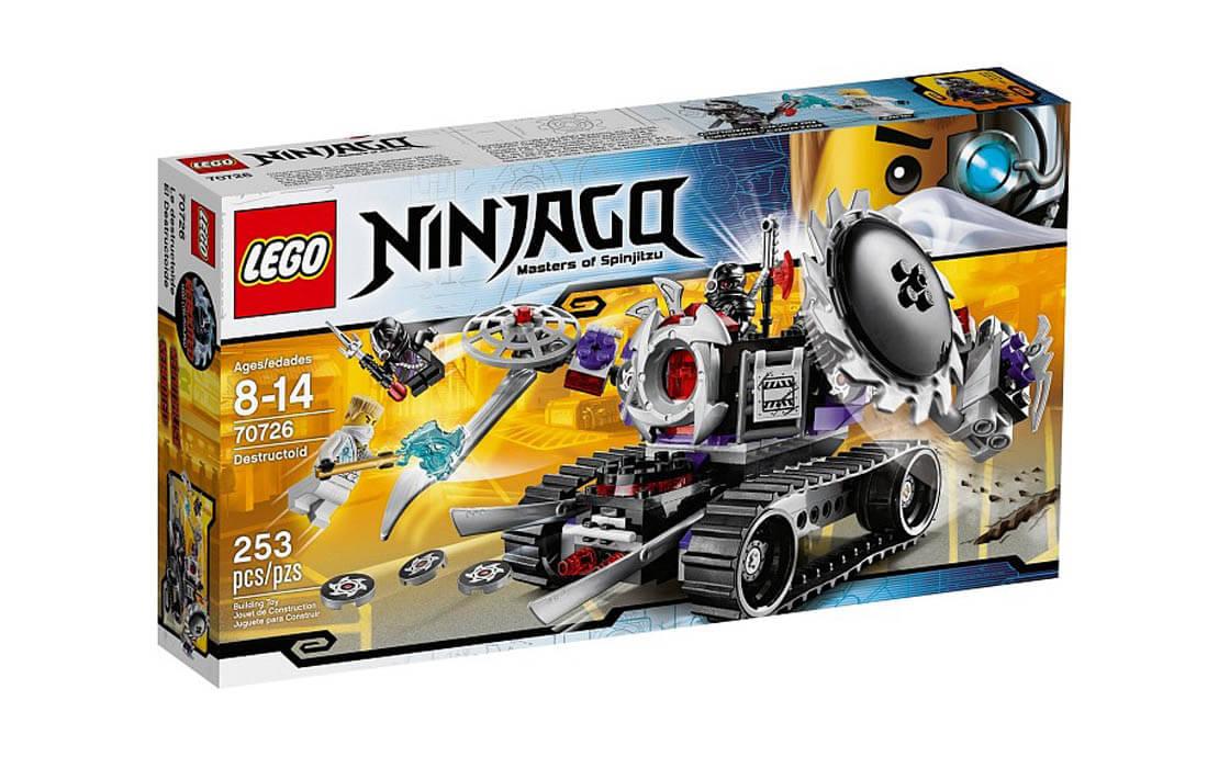 LEGO NINJAGO Разрушитель (70726)