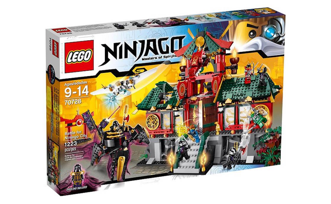 LEGO NINJAGO Битва за город Ниндзяго (70728)