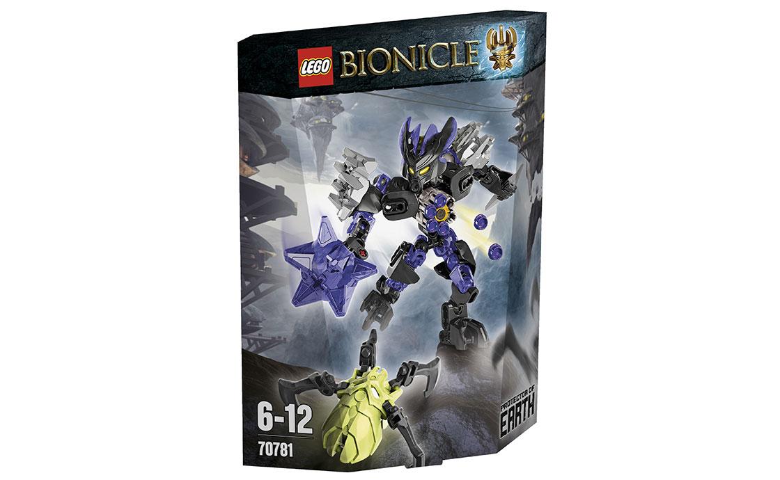 LEGO BIONICLE Стражница Земли (70781)