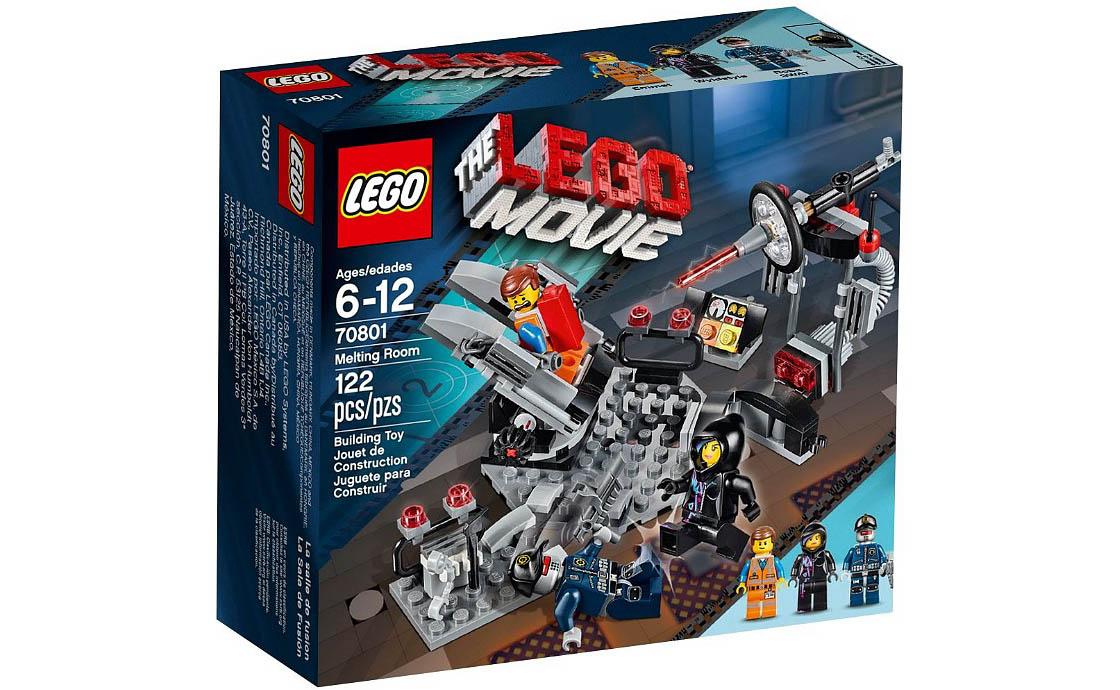 The LEGO Movie Комната с лазером (70801)