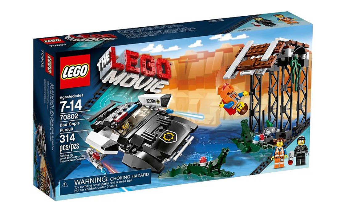 The LEGO Movie Погоня Плохого Копа (70802)