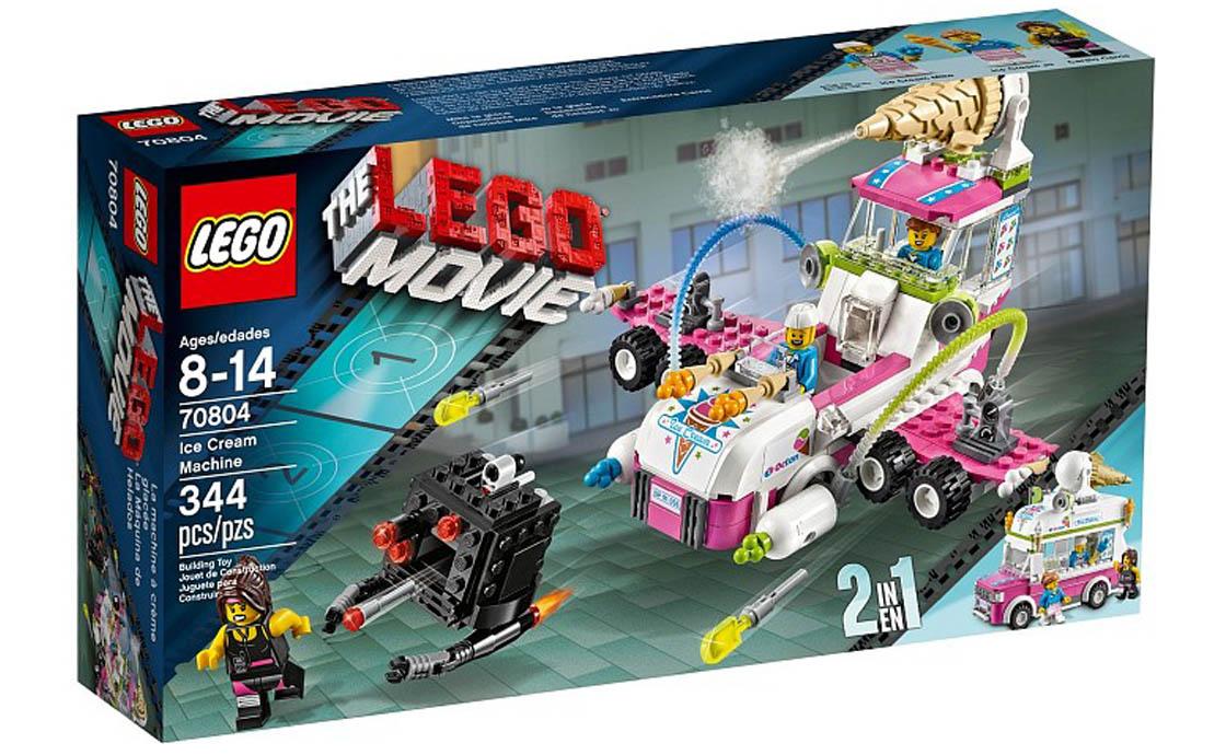 The LEGO Movie Машина-самолёт с мороженым (70804)