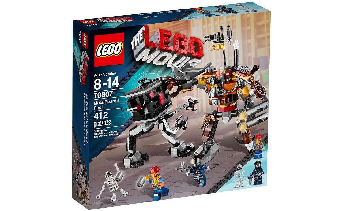 The LEGO Movie Поединок Механоидов (70807)