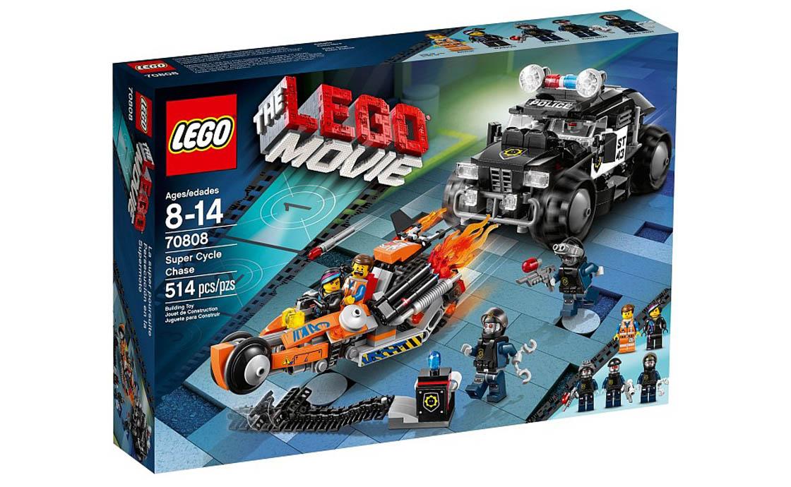 The LEGO Movie Погоня на мотоцикле (70808)