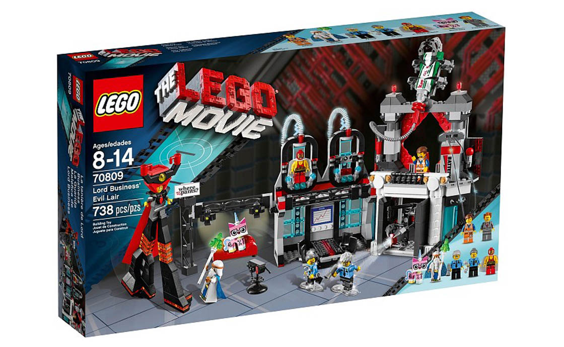 The LEGO Movie Логово Лорда Бизнеса (70809)