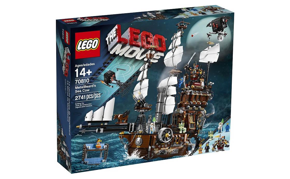 The LEGO Movie Корабль Стальной Бороды (70810)