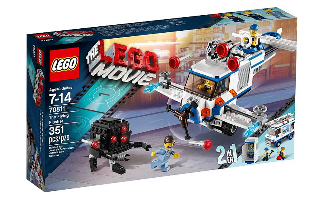 The LEGO Movie Летающая поливалка (70811)