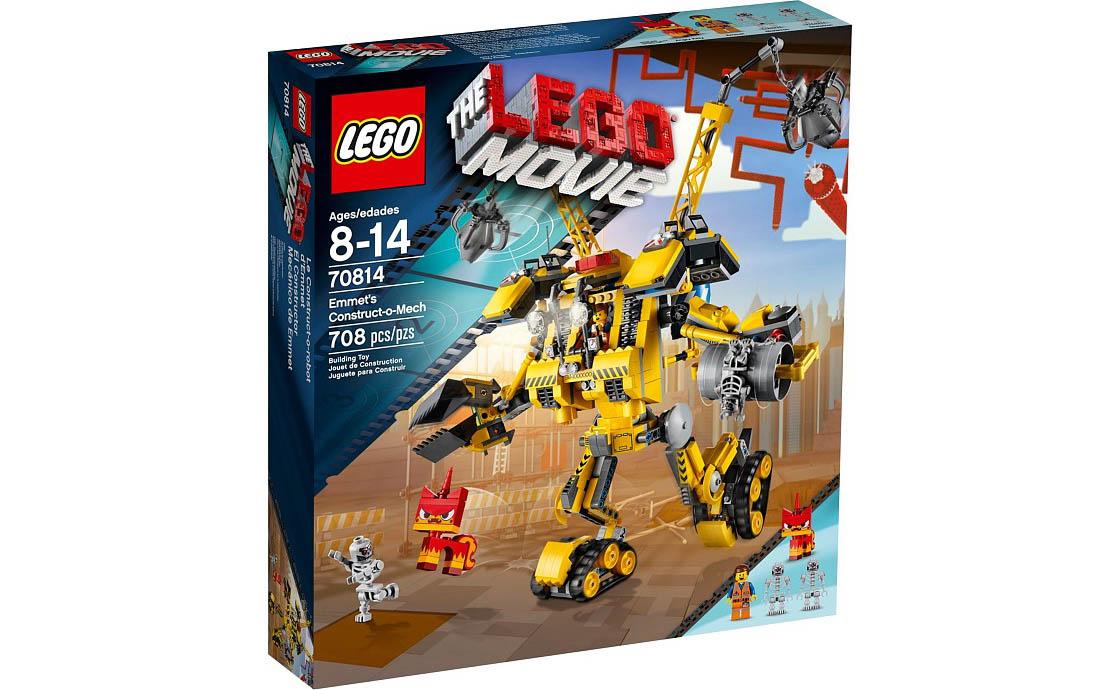 The LEGO Movie Робот-конструктор Эммета (70814)