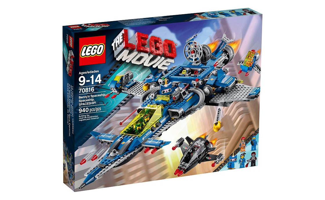 The LEGO Movie Космический корабль Бенни (70816)