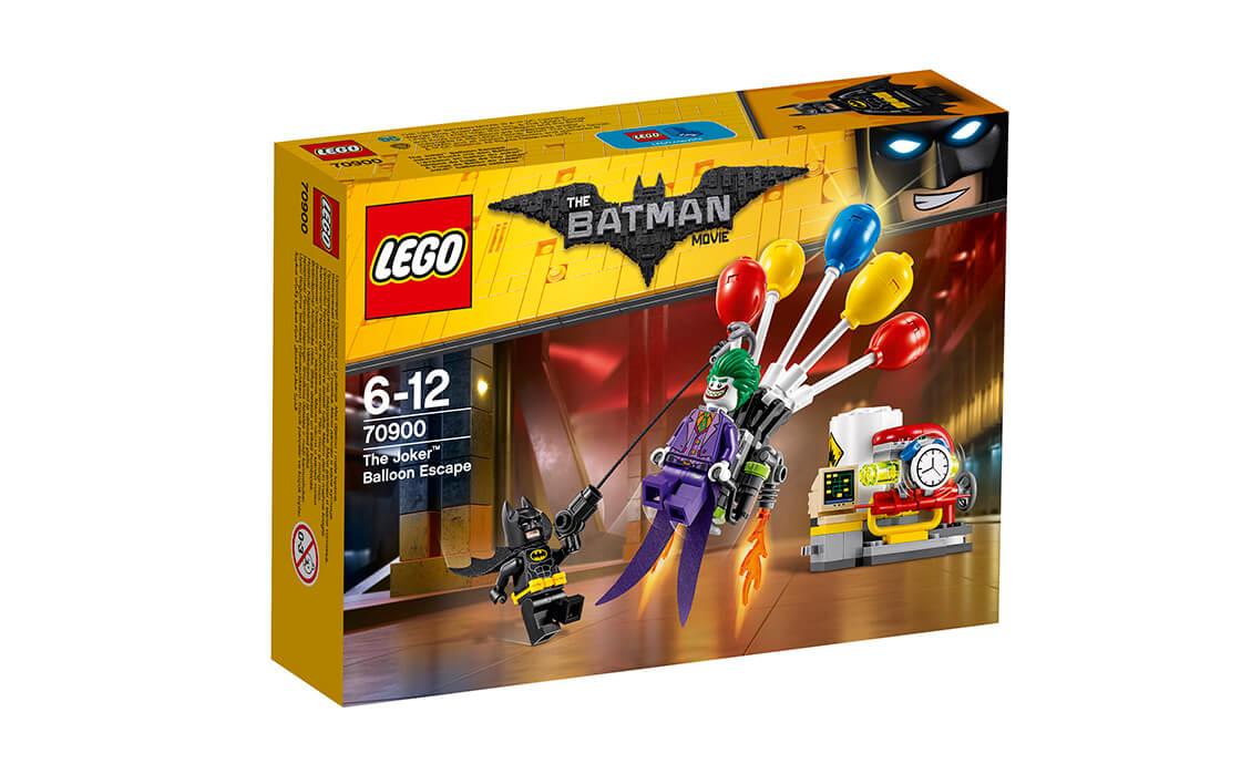 THE LEGO BATMAN MOVIE Втеча Джокера на повітряній кулі (70900)
