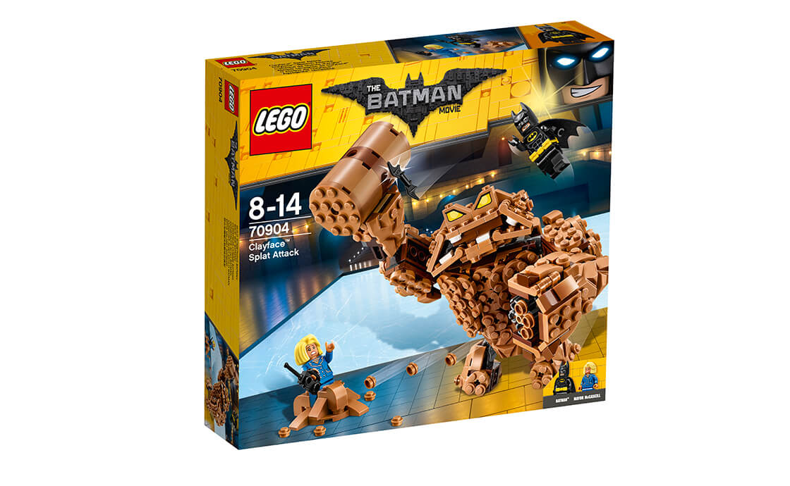 THE LEGO BATMAN MOVIE Атака Глиноликого (70904)