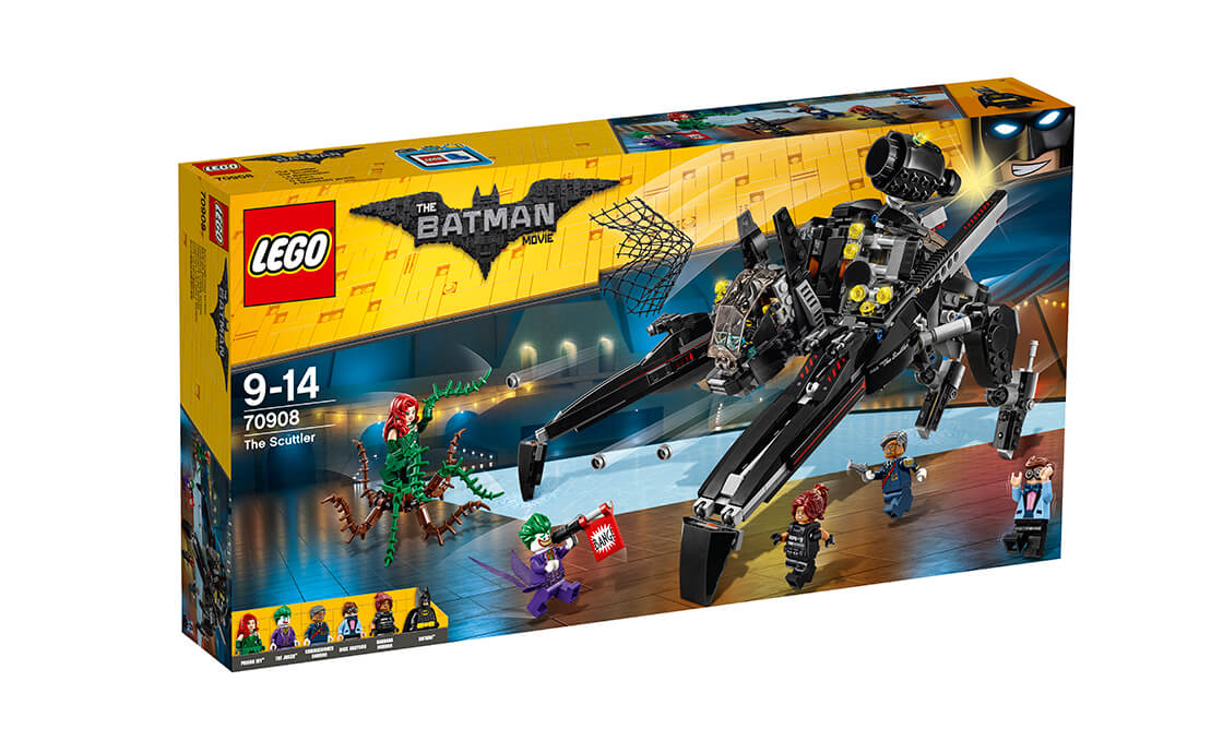 THE LEGO BATMAN MOVIE «Скатлер» (70908)