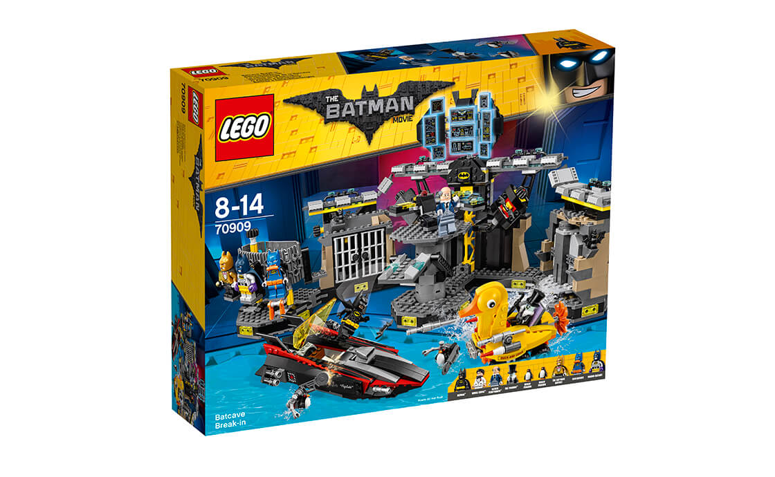 THE LEGO BATMAN MOVIE Напад на Бет-печеру (70909)