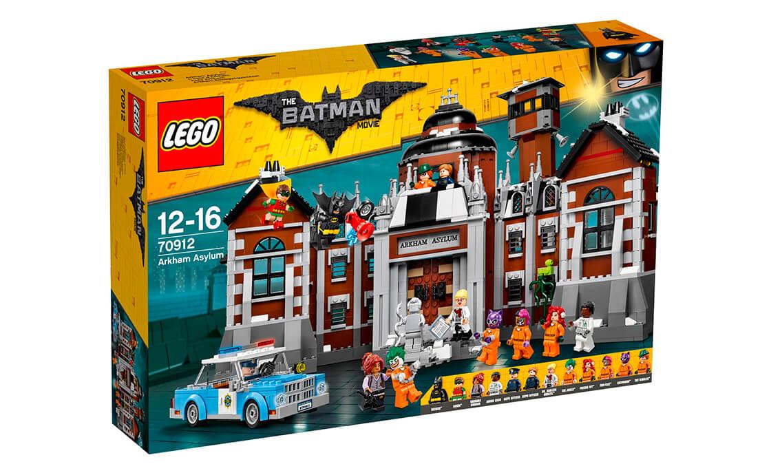 THE LEGO BATMAN MOVIE Лікарня Аркхем (70912)