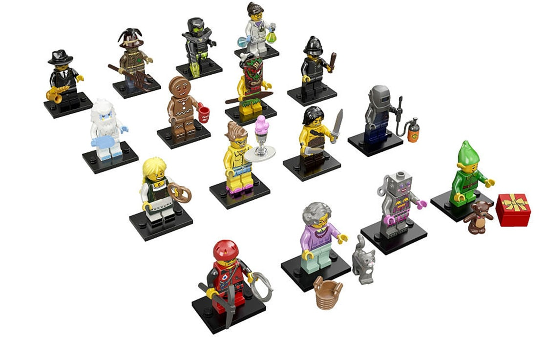LEGO Minifigures Серия 11: полная коллекция (71002)