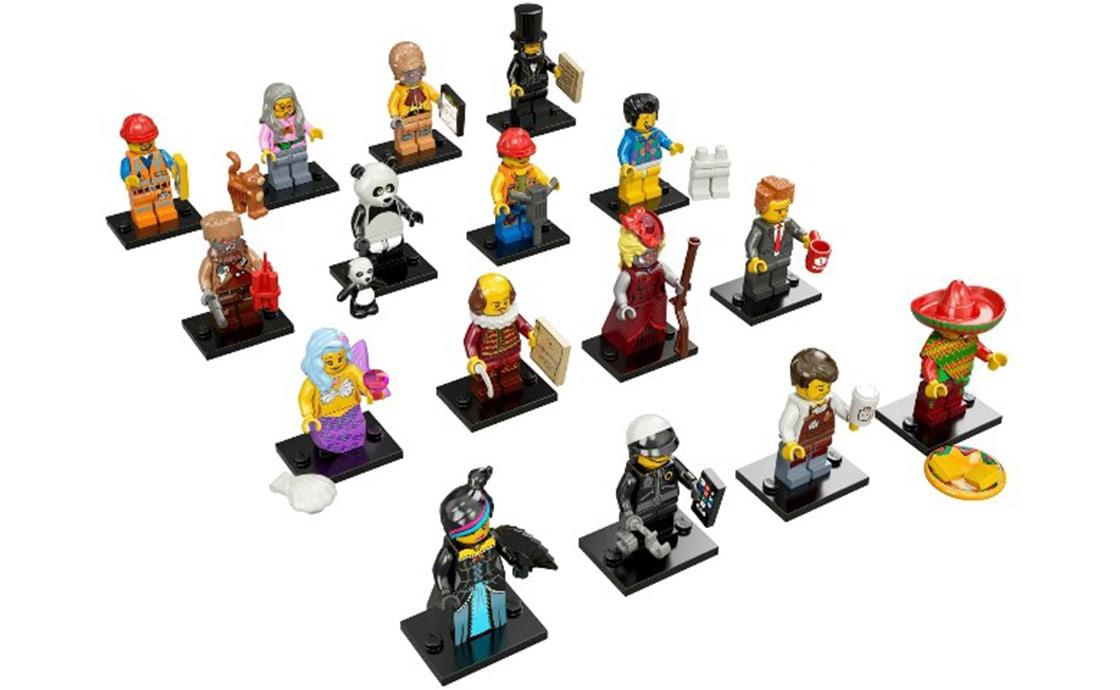 LEGO Minifigures Серия Movie: полная коллекция (71004-17)