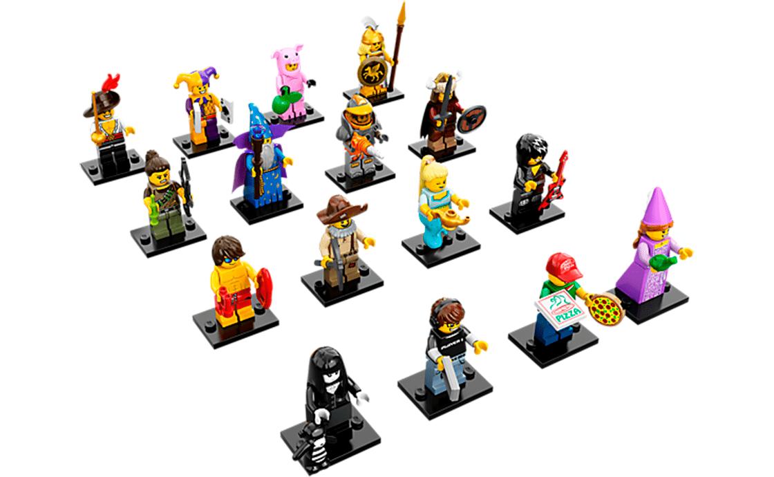 LEGO Minifigures Серия 12: полная коллекция (71007-18)