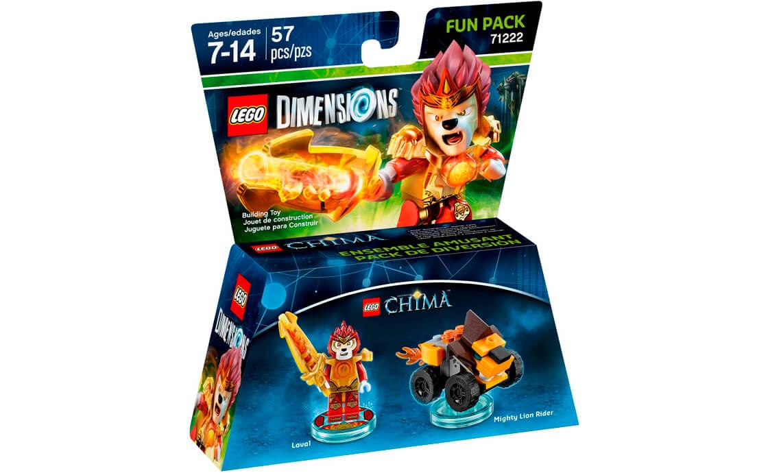LEGO Dimensions Фан-пак: Лавал (71222)