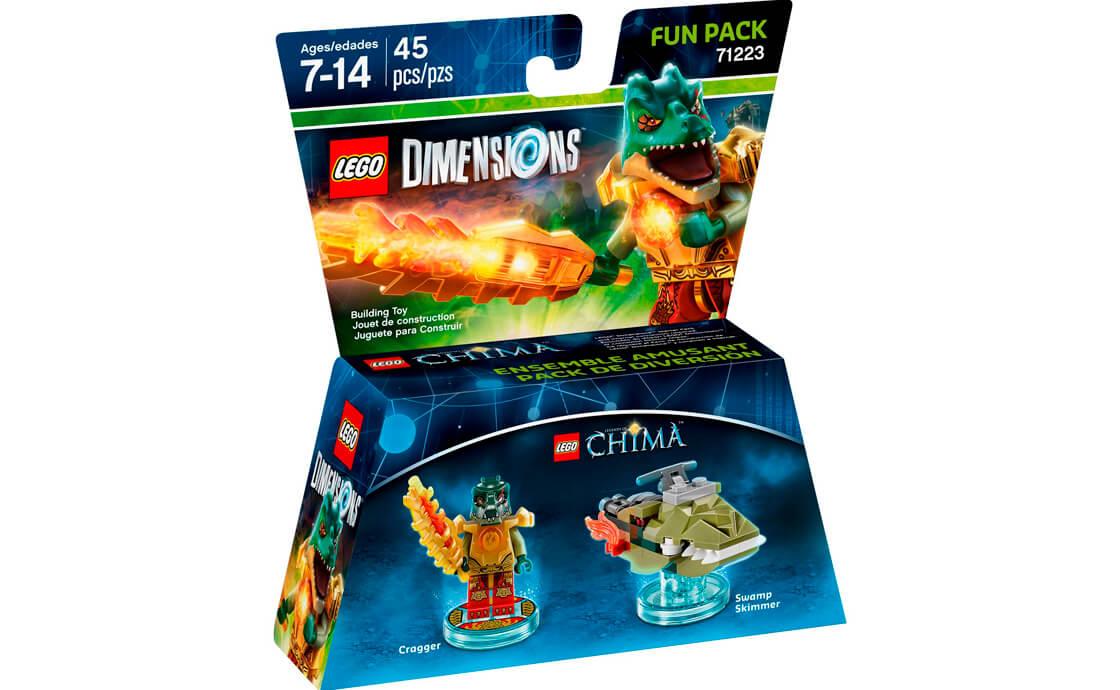 LEGO Dimensions Фан-пак: Краггер (71223)