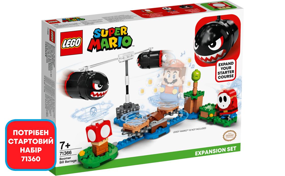 LEGO Super Mario Бумер Билл Барраж (71366)