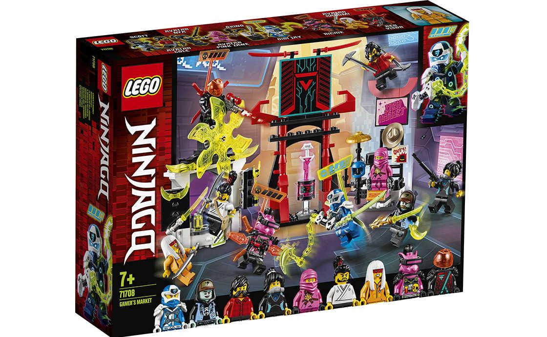 LEGO NINJAGO Кіберринок (71708)