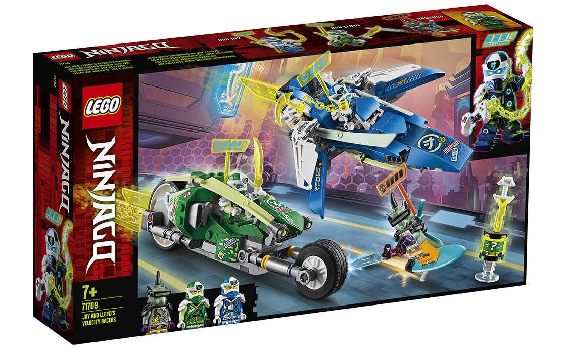 LEGO NINJAGO Швидкісні машини Джея і Ллойда (71709)