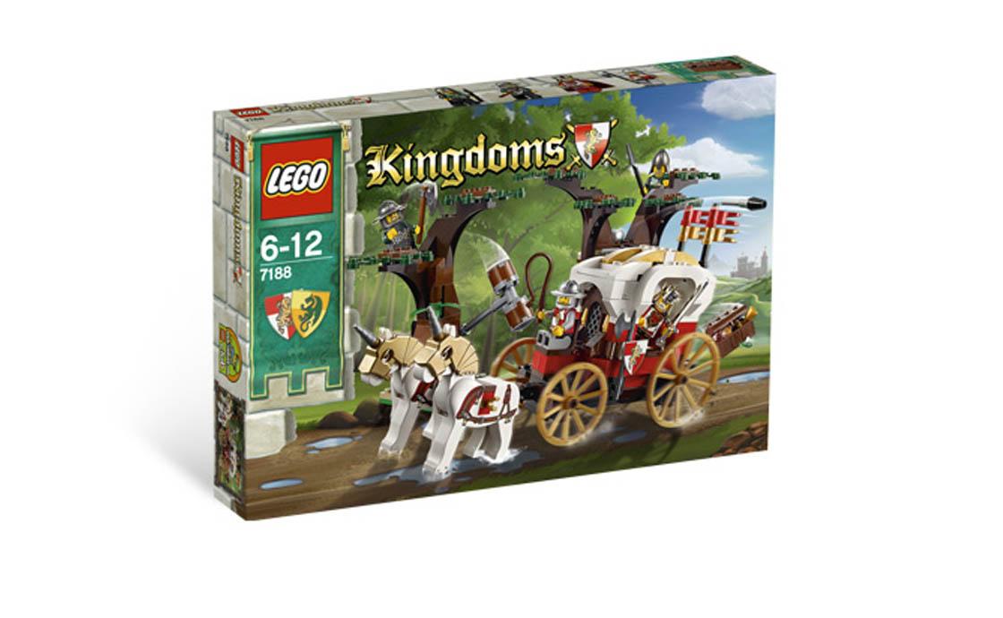 Раритет LEGO Kingdoms Засада на карету короля (7188)