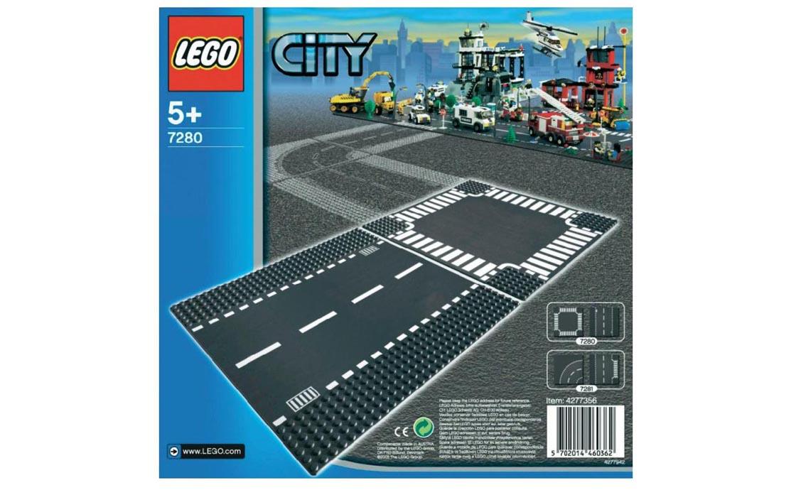 LEGO City Прямая трасса и перекресток (7280)