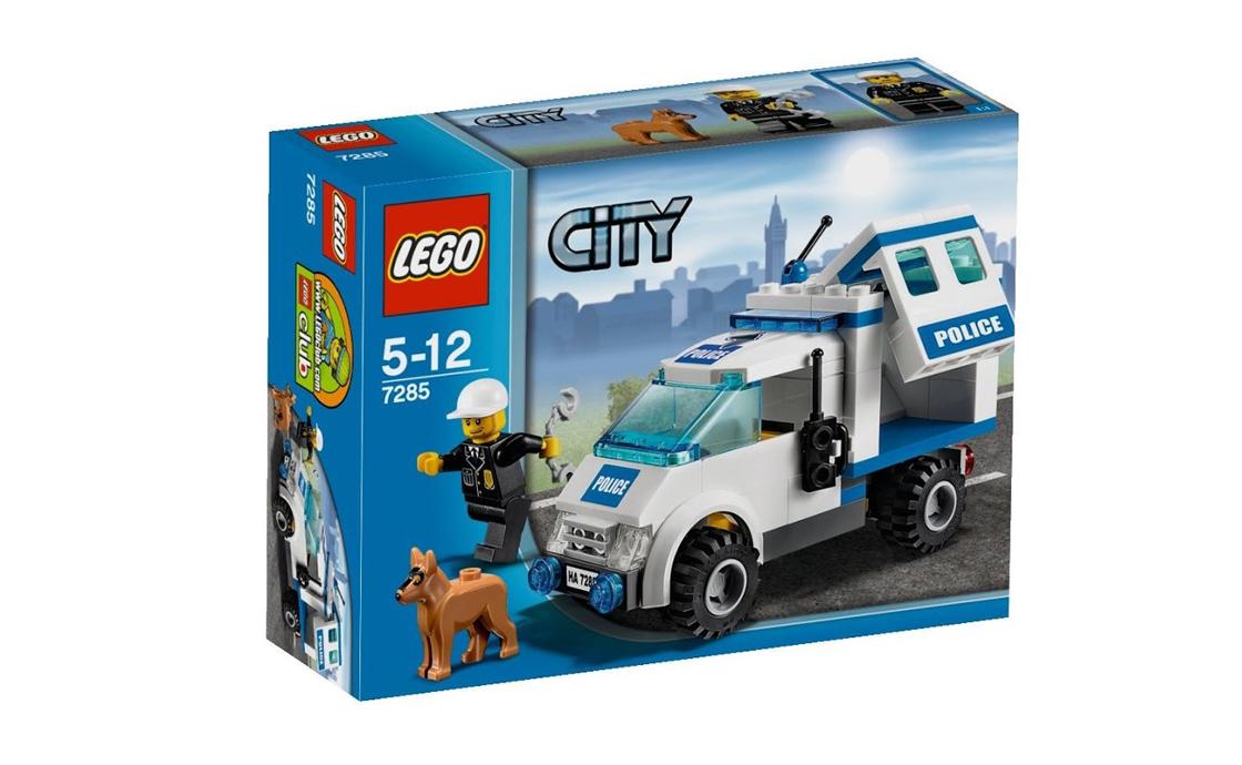 LEGO City Полицейский наряд и служебная собака (7285)