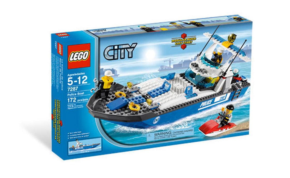 LEGO City Полицейский катер (7287)