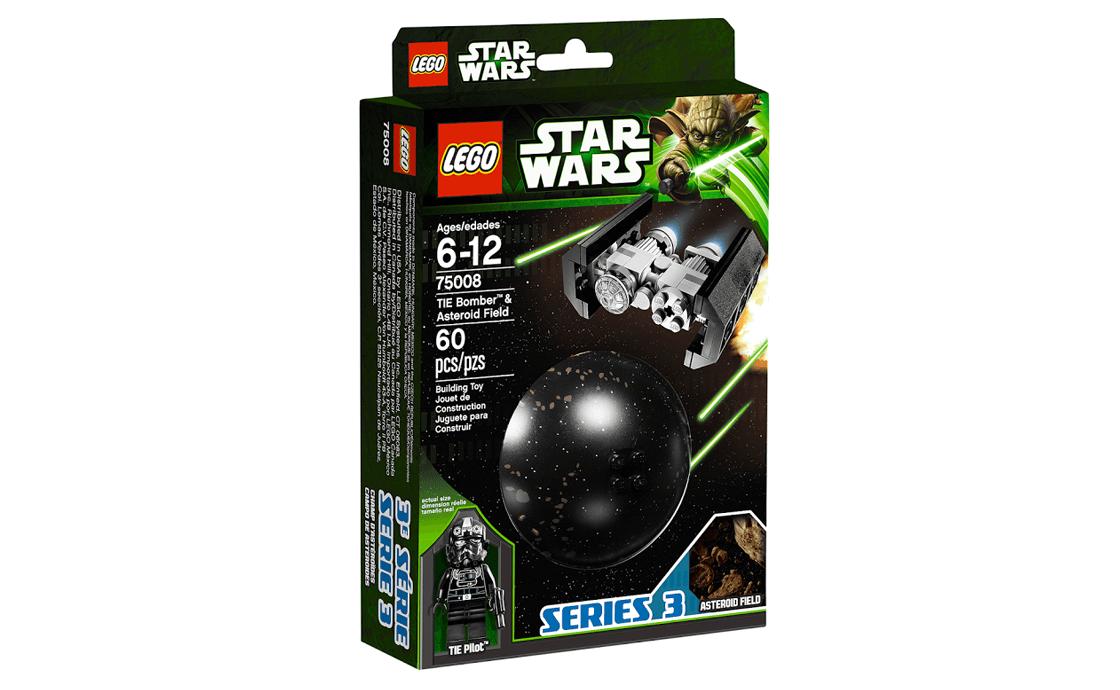 LEGO Star Wars Имперский TIE - истребитель и поле астероидов (75008)