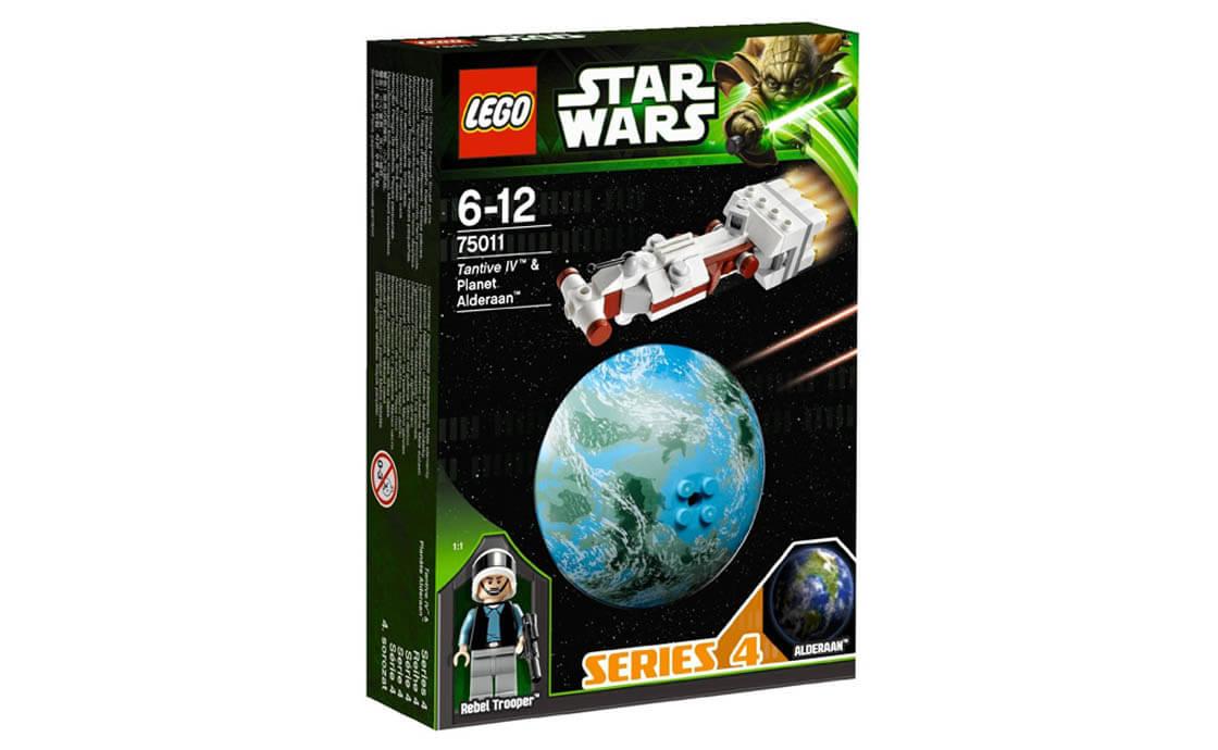 LEGO Star Wars Корабль Tantive IV и планета Алдераан (75011)