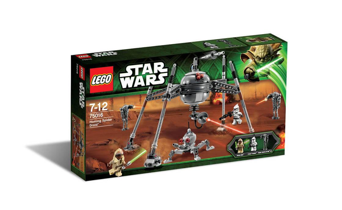 LEGO Star Wars Самонавідний дроїд-павук (75016)
