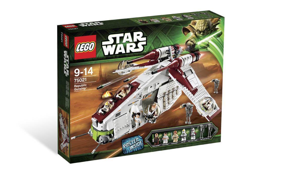 LEGO Star Wars Республиканский истребитель (75021)