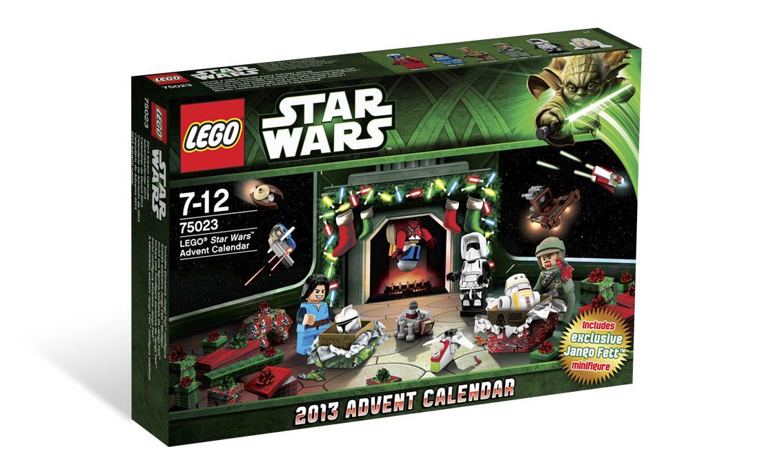 """LEGO Star Wars Новогодний календарь """"Звездные войны"""" (75023)"""