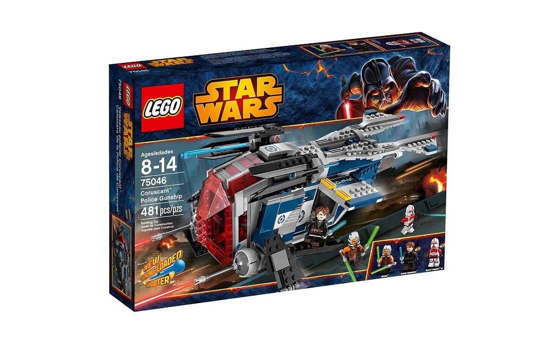 LEGO Star Wars Корусантский полицейский звездолёт (75046)