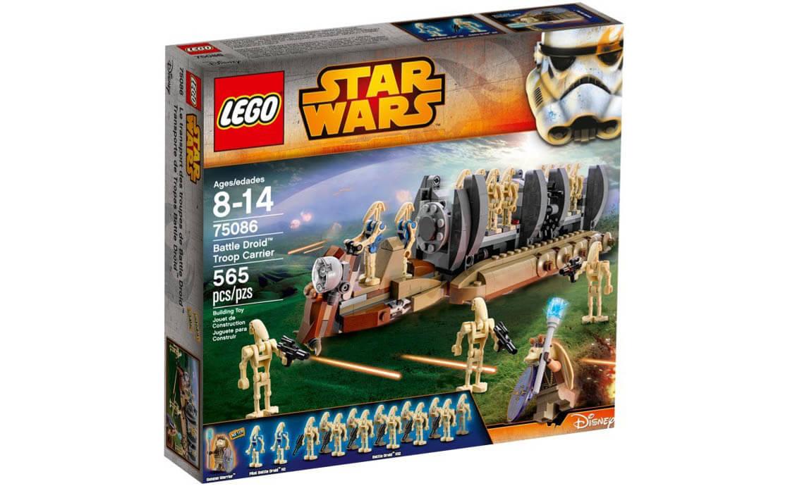 LEGO Star Wars Перевозчик войск дроидов для сражений (75086)