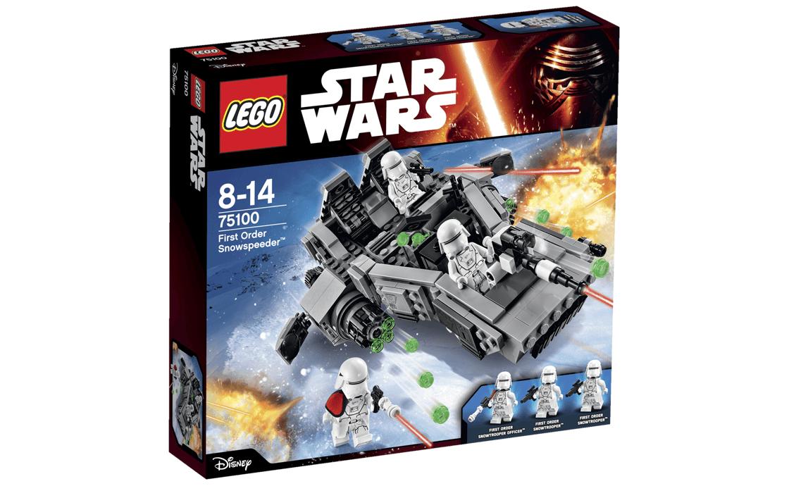 LEGO Star Wars Сніговий спідер Першого Ордену (75100)