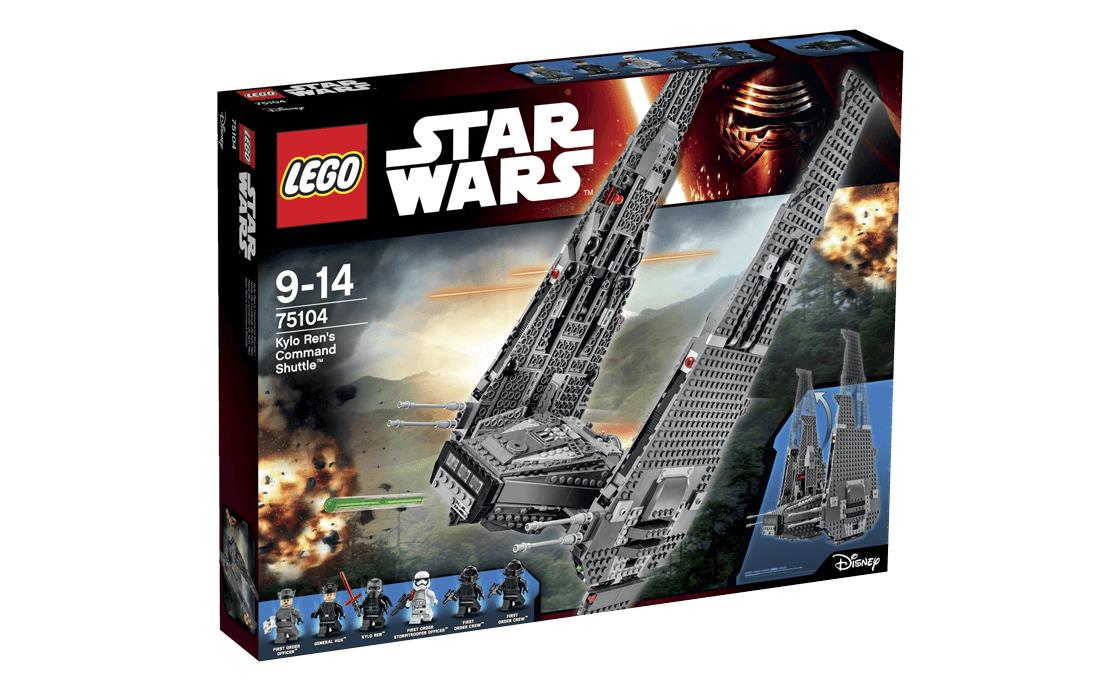 LEGO Star Wars Командний шаттл Кайло Рена (75104)