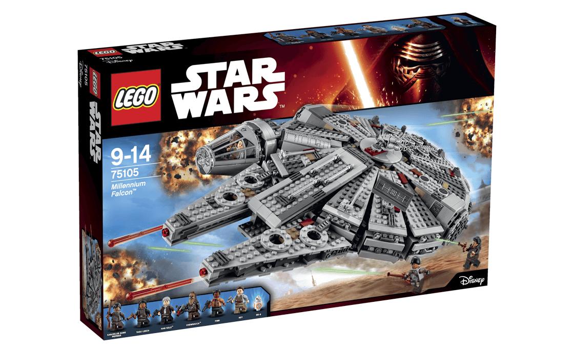 LEGO Star Wars Сокіл Тисячоліття (75105)