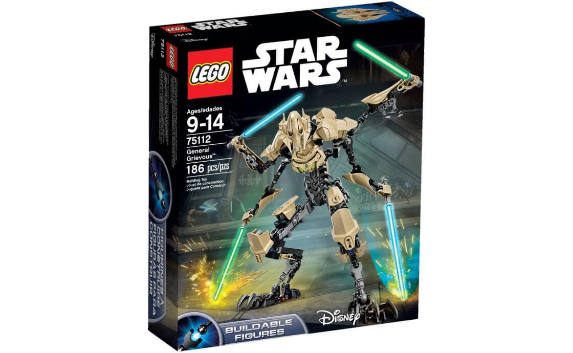 LEGO Star Wars Генерал Гривус (75112)