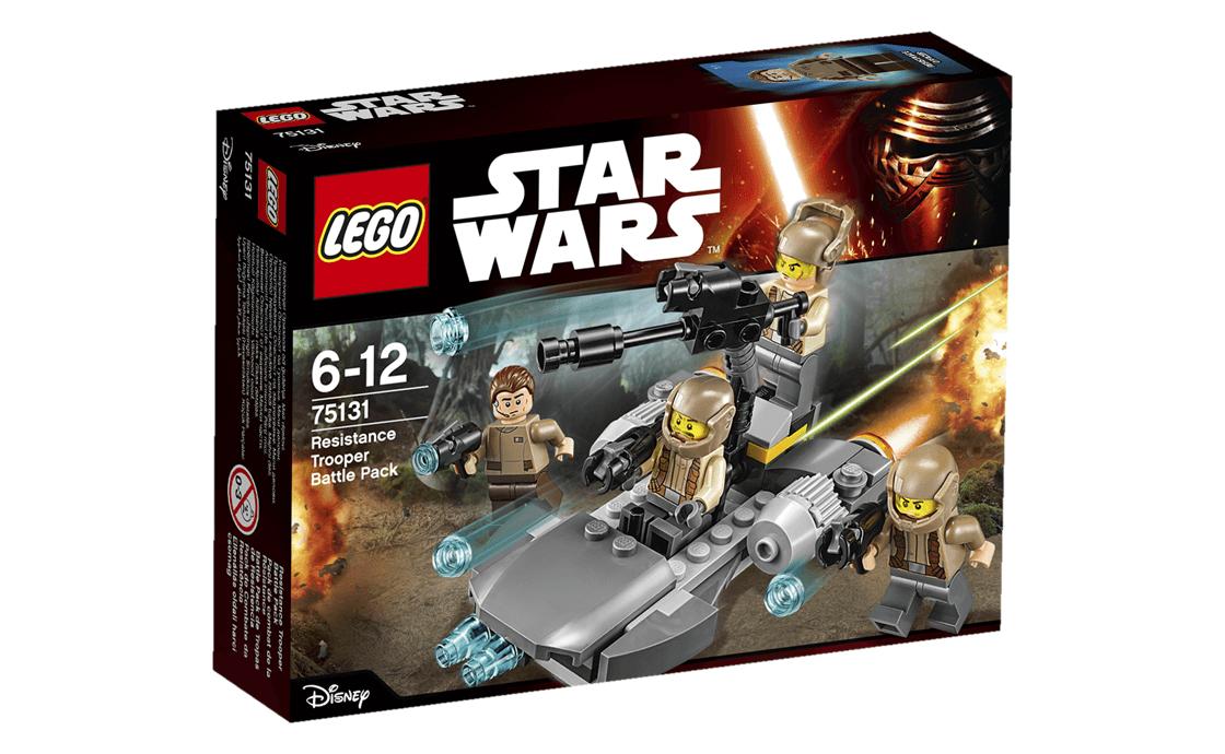 LEGO Star Wars Батл - пак повстанців (75131)