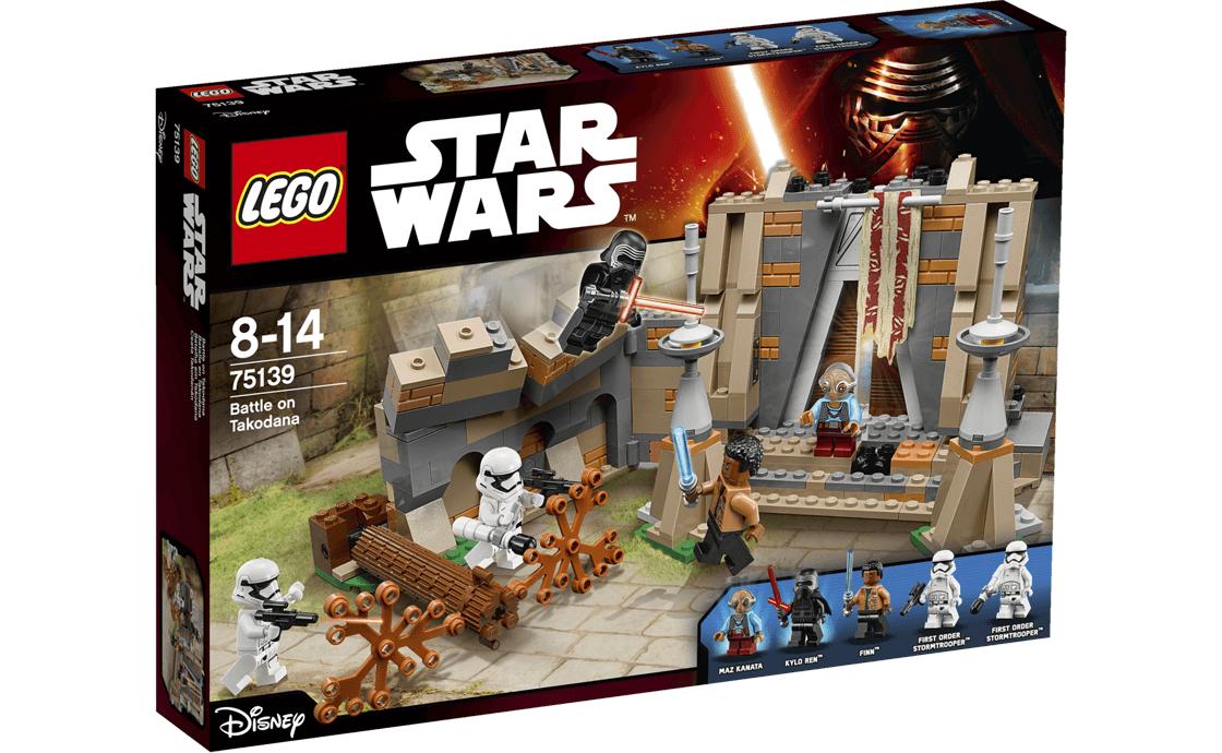 LEGO Star Wars Битва на Такодане (75139)