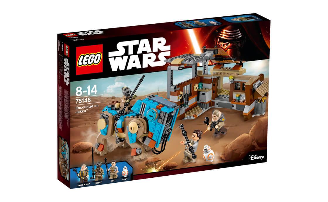 LEGO Star Wars Зустріч на Джакку (75148)