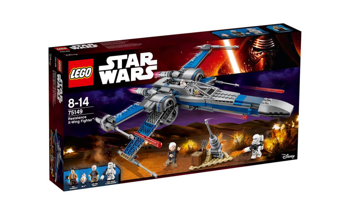 LEGO Star Wars Винищувач Опору X-Wing (75149)