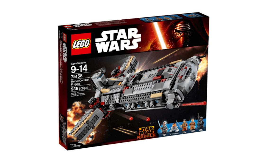 LEGO Star Wars Бойовий фрегат повстанців (75158)