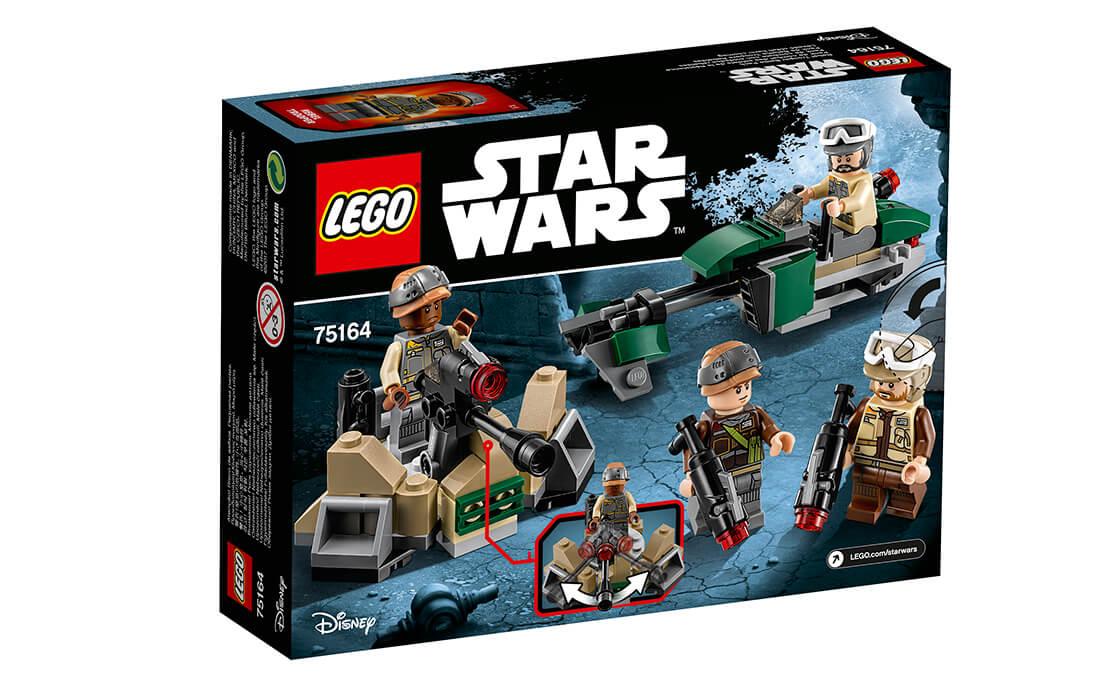 LEGO Star Wars Бойовий набір повстанців (75164)