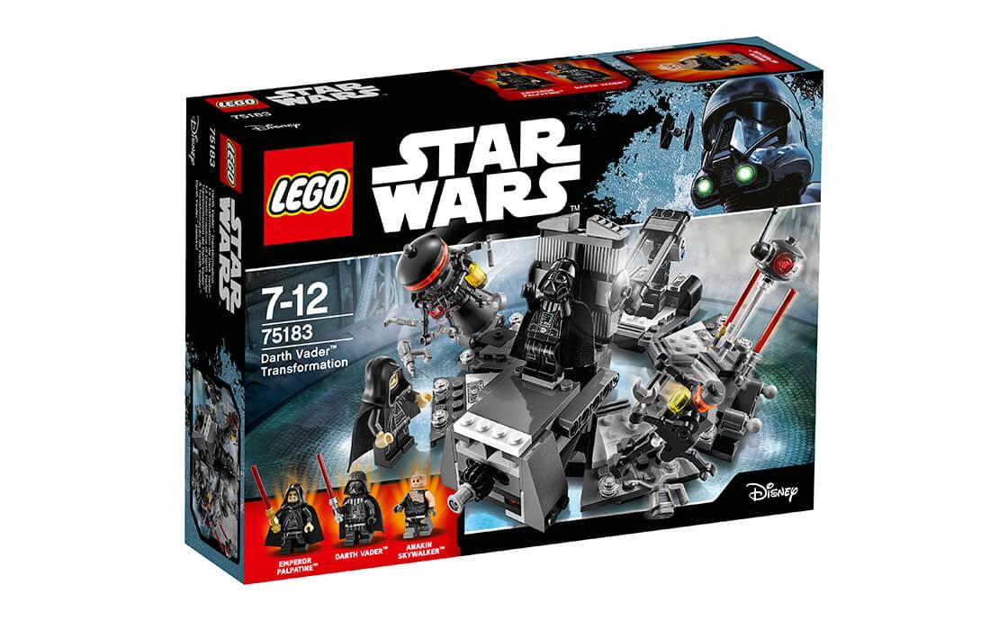LEGO Star Wars LEGO Star Wars Перетворення на Дарта Вейдера (75183)