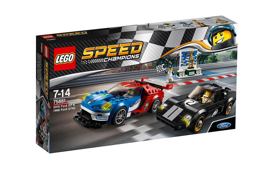 LEGO Speed Champions 2016 Форд GT та 1966 Форд GT40 (75881)