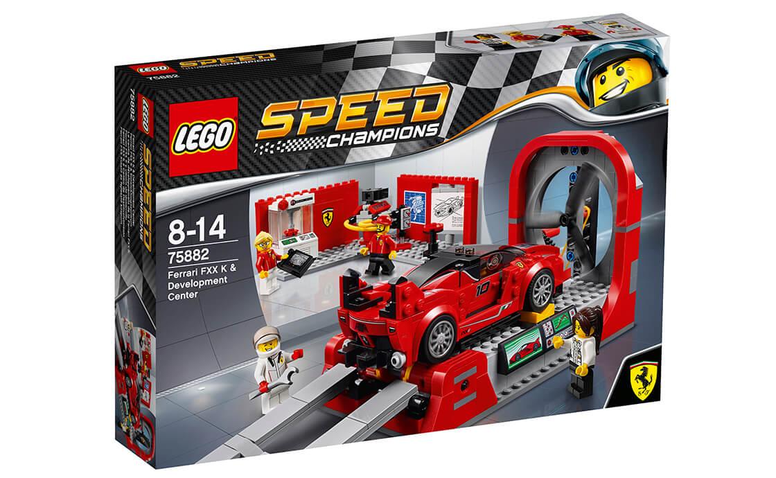 LEGO Speed Champions Ferrari FXX K і Центр розробки та проектування (75882)